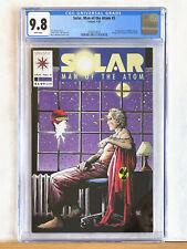 SOLAR Man of the Atom #5 : CGC 9.8 NM/MT : 1992 Valiant, Shooter Windsor-Smith