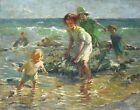 Dorothea Sharp At the Seaside Canvas Print 16 x 20   # 8130