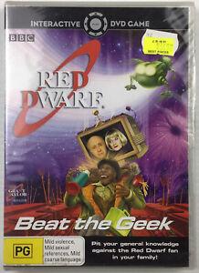 Red Dwarf Beat The Geek 2006 DVD Interactive Game Comedy Sci-Fi Reg 4 Brand New