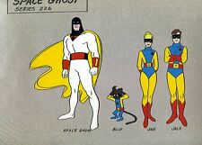 Space Stars -Hanna Barbara Space Ghost Jan, Jace, Blip animation cel