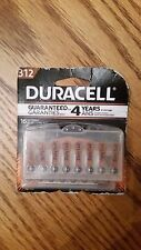 16 Duracell Size 312 Hearing Aid Batteries (with EasyTabs) - Expiration 2020