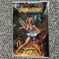 Zombies VS Cheerleaders Geektacular 1 Cover C SIGNED By Rich Koslowski Moonstone