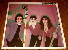 JOHNNY WINTER RAISIN' CAIN  LP 1980    ROCK & ROLL!