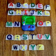 Leap Frog Fridge Phonics ABC Refrigerator Magnets 100% Complete Capital Letters