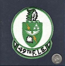 Original 49th FIS F-106 Delta Dart USAF Fighter Interceptor Squadron Patch