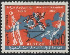 ALGERIE N°452**  Jeux sportifs méditerranéens de Tunis, sport  1967, ALGERIA MNH