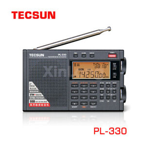 NEW Tecsun PL330 Full Band Radio FM Stereo LW/MW/SW SSB DSP Receiver Shortwave