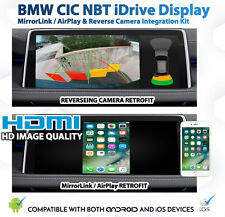 BMW F20 1 Series iDrive GPS MirrorLink AirPlay Reverse Camera Retrofit Kit