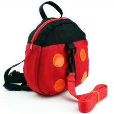 Walking Safety Backpack Harness Reins Toddler Bag for Kids Children Ladybug