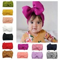 Child Girl Baby Headband Toddler Lace Bow Flower Hair Band Accessories Headwear