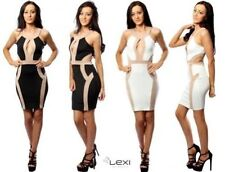 Acrylic Blend Stretch, Bodycon Machine Washable Regular Dresses for Women