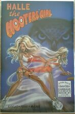 """""""Halle The Hooters Girl"""" unread 1st print recalled PJ Pearl & Doug Wright issue"""