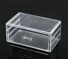 Large Capacity Cosmetic & Jewelry Storage Box Organizer easy slide drawer