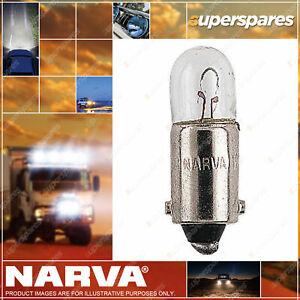 Narva Instrument Licence Plate Globe 12 Volt 4W 47233Bl for holden vehicle