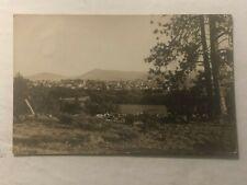 Goldendale Washington 1908 Rppc Birdseye Posted Schenectady Ny Photo Postcard