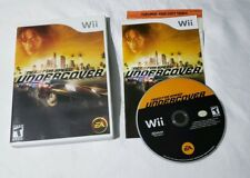 Need for Speed: Undercover Nintendo Wii COMPLETE IN CASE