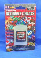 Action Replay Ultimate cheats for Pokemon for Nintendo DS/Ds Lite sealed