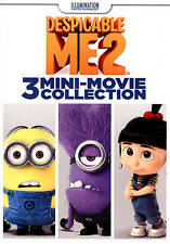 Despicable Me 2: 3 Mini-Movie Collection (DVD, 2015) NEW