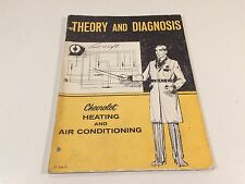 1971 Theory & Diagnosis Chevrolet Heating and Air Conditioning ST 346-71
