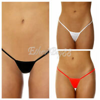 Sexy Womens Micro Thongs Low Rise Underwear G String T-back Bikini Mini Swimwear