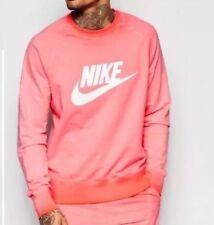 Nike Mens AW77 Solstice Crew Neck Sweatshirt - 871763 696 - UK L - Over-dyed