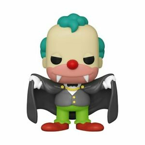Funko Pop! Television The Simpsons Halloween Vampire Krusty W/ Protector