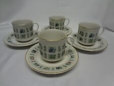 Royal Doulton - Tapestry - TC1024 - Set of 4 Cups and Saucers