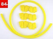 +6x Zündspulen Kappe Cover Gelb R36 R32 + 1x Wellrohr 03H 971 921 A 03H971921A+