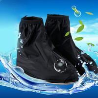 Anti-slip Rubber Rain Shoe Covers Waterproof PVC Overshoes Boot Gear Men Women