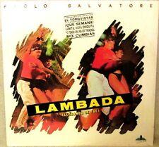 Paolo Salvatore Lambada (Llorando Se Fue) 1989 Capitol #H1E42295 LATIN Sealed LP
