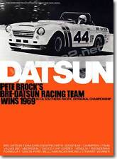 "REDUCED 1969 BRE Datsun Roadster Champion Poster (24""x33"")"