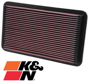K&N REPLACEMENT AIR FILTER FOR LEXUS ES300 VCV10R 3VZ-FE 3.0L V6