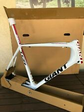 NEW 2011 GIANT TCR ADVANCED SL 2 ISP FRAME WHITE/BLACK/RED, XL