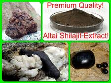 Siberian Shilajit Extract Powder 40%! 300g-10,58oz. Wild Altai! Premium Quality!