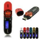 Mini USB écran LCD Numérique MP3 Lecteur Audio Musique Radio FM Support 16GB