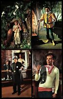 Movieland Wax Museum Buena Park California lot of 4 Postcards pc33a