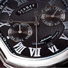STAUER Meisterzeit Wristwatch - Midnight Black  - NEW with Tags!!!