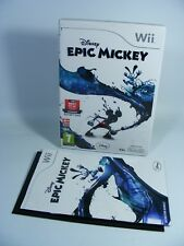 Disney Epic Mickey pour Nintendo Wii Jeu UE-version avec neuf dans sa boîte Et Guide Micky