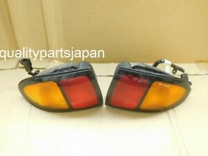 TOYOTA CHEVY CAVALIER AMBER TAIL LIGHTS LAMP REAR PAIR SET JDM