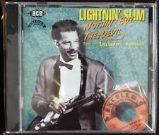 Lightnin' Slim Nothing But The Devil Feat. Lazy Lester on Harmonica, Like New CD