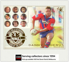 2003 Select NRL XL Trading Cards Team Of The Year TY9: Danny Buderus (Knights)