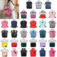 Diaper Bag Large Capacity Mummy Nursing Backpack Handbag Tote Waterproof Fashion