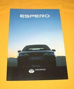 Daewoo Espero 1994 Prospekt Brochure Catalog Prospetto Каталог Depliant