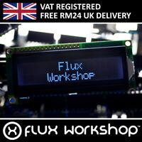 1602A White LCD Module Black Backlight HD44780 16x2 Arduino Flux Workshop