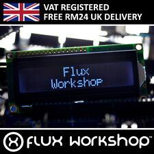 1602A Blanc LCD Module Noir Rétro-éclairage HD44780 16x2 Arduino Flux Workshop