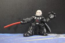 Star Wars Galactic Heroes Darth Vader No Helmet Loose 2007