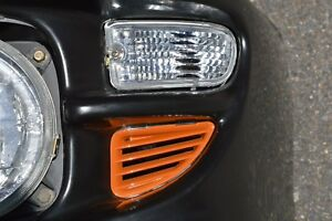 GENUINE SUBARU WRX LH FRONT BUMPER BAR ORANGE VENT 99- 00 GC8 GF8 IMPREZA STI RX