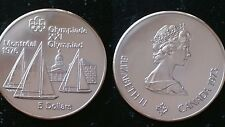 CANADA / 5 DOLLARS - MONTREAL 1976 / 1973 / SILVER COIN