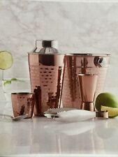 Copper Coctail Set, 5 Pieces