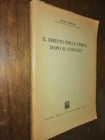 LIBRO:IL DIRITTO DELLA CHIESA DOPO IL CONCILIO - P. GISMONDI - GIUFFRE' EDITORE